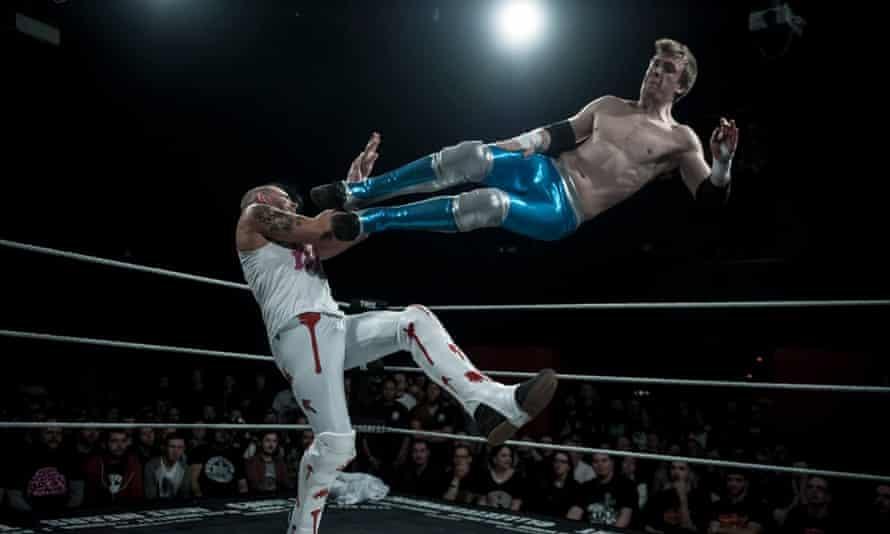 Progress wrestlers in the ring II