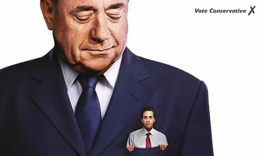 Conservative poster ed miliband alex salmond