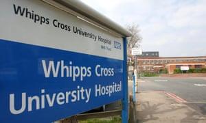 Whipps Cross hospital.