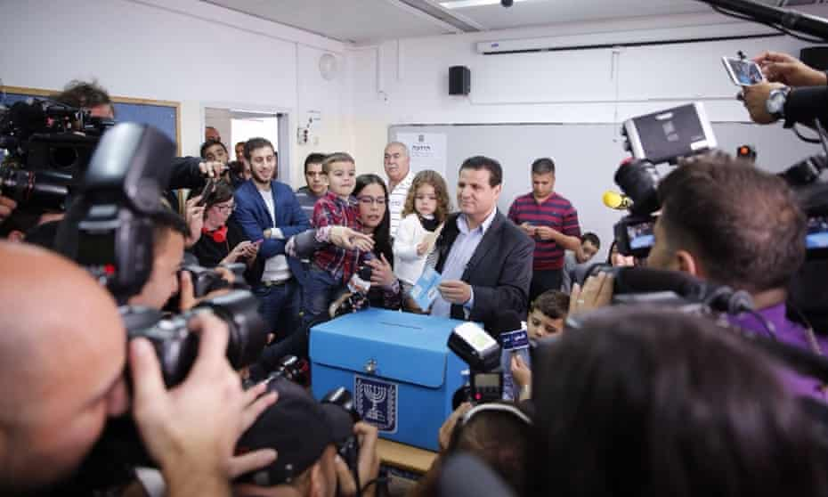 Joint List leader Ayman Odeh
