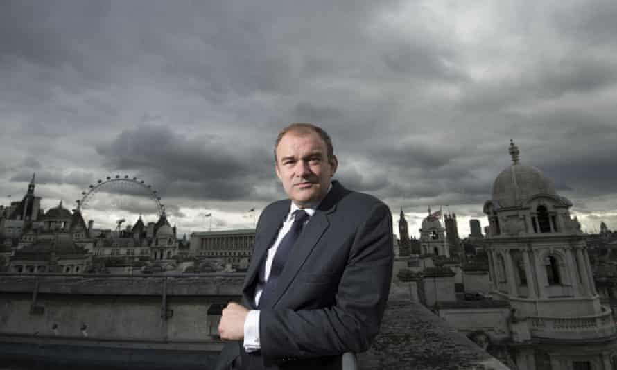 Ed Davey, London, Britain - 23 Oct 2014