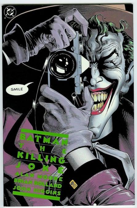 Reference point … Batman: the Killing Joke comic book from 1988, written by Alan Moore.