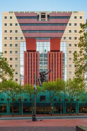 The Portland Building in Oregon