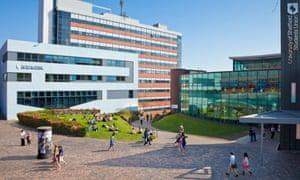 Sheffield university campus
