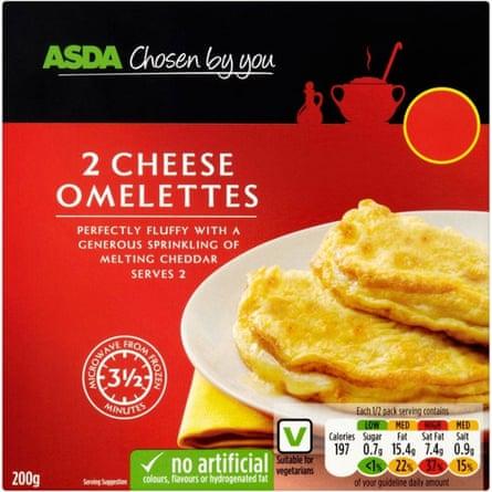 Asda omlettes