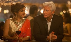 That other silver fox, Richard Gere, with Lillete Dubey in The Second Best Exotic Marigold Hotel.