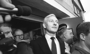 Conservative politician Harvey Proctor in 1987
