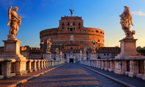 The Mausoleum of Hadrian, Rome