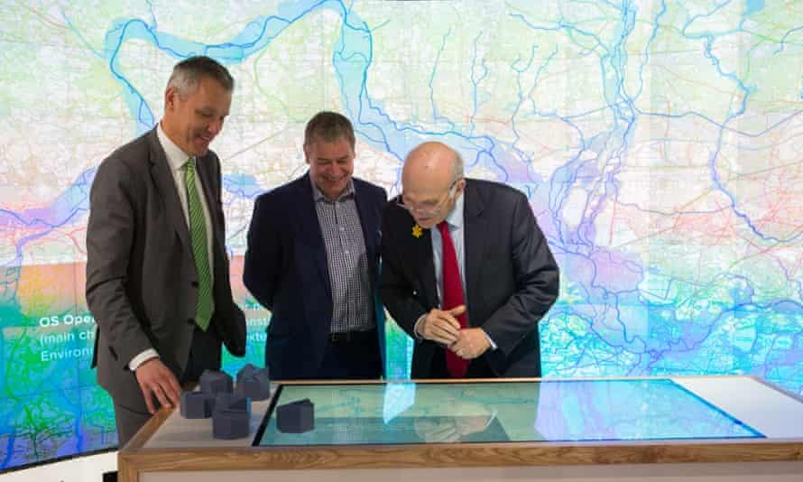Business secretary Vince Cable at the launch of the Urban Innovation Centre.