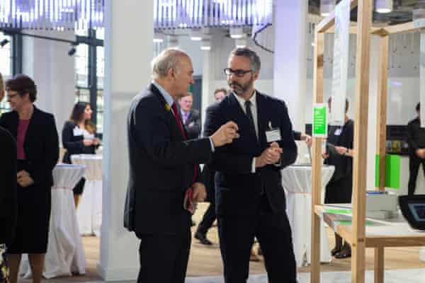 Vince Cable talks to Dan Hill at the new Urban Innovation Centre in central London.