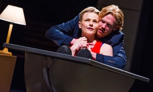 Maxine Peake (Dana) and Michael Shaeffer (Jarron) in How To Hold Your Breath by Zinnie Harris