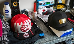 Young offenders at Clayfields House secure children's home are allowed to buy baseball caps because they cannot be used as an offensive weapon