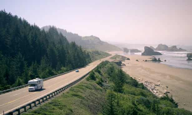 oregon coast road