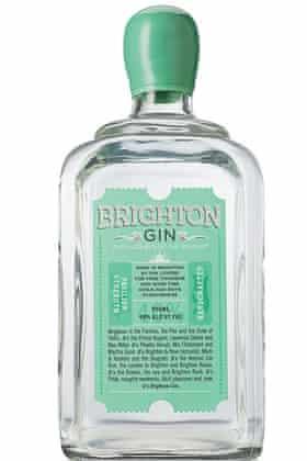 Brighton Gin bottle