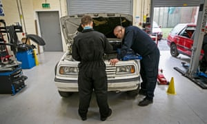Children can learn to be mechanics at Clayfields