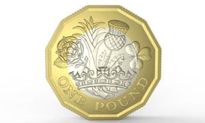 The design on the tails side of the new coin is the work of West Midlands teenager David Pearce, who won a competition to to create the image on the new money.