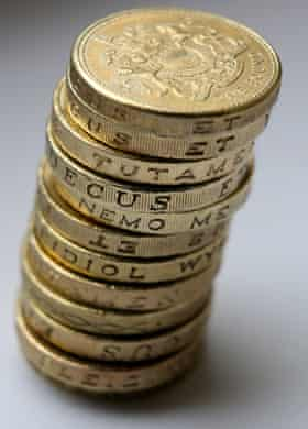 The Royal Mint estimates that about 3% of all £1 coins, some 45m, are now forgeries.