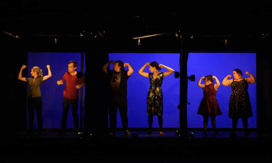 Rawcus ensemble in Catalogue – presented as part of Dance Massive at Arts House