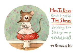 How to draw shrew 1