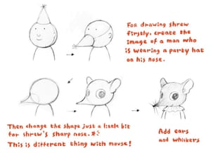 How to draw a shrew 3