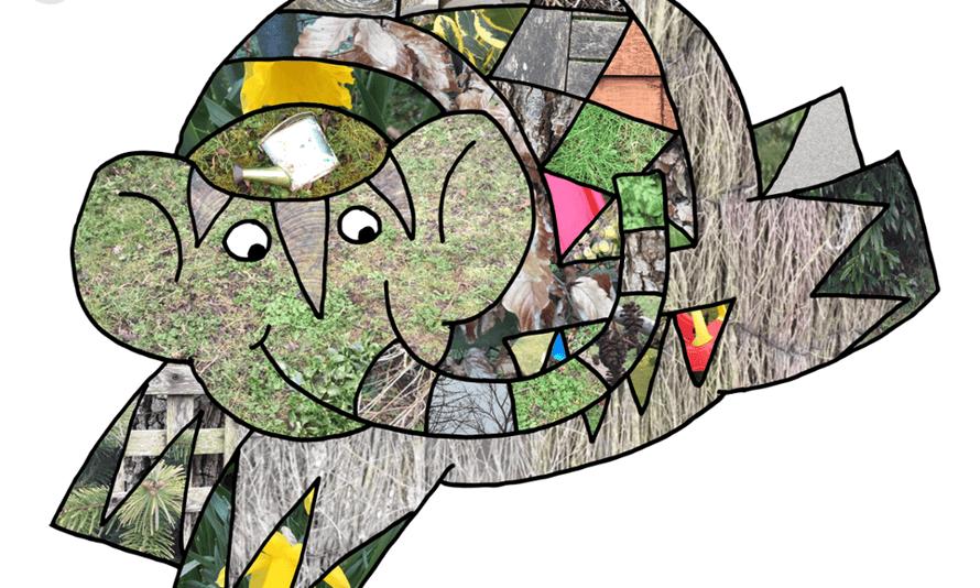 Elmer's Photo Patchwork app for iOS.