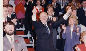 In 1992 UK polls forecast Labour's Neil Kinnock to become prime minister. The Conservatives and John Major won the election by more than seven percentage points.