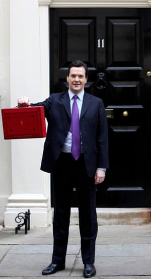 George Osborne on 23 March 2011.