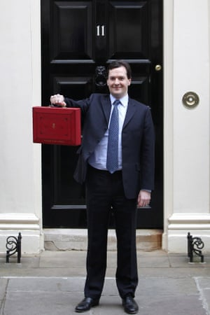 George Osborne on 21 March 2012.