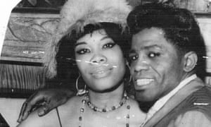 Lithofayne Pridgon with James Browne in the 1960s