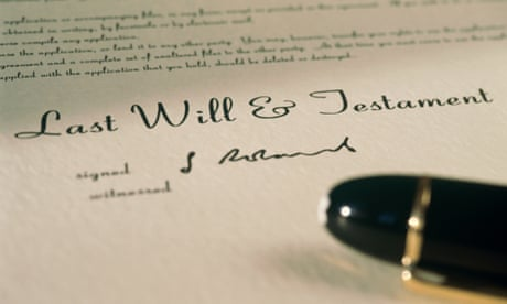 Writing a will really is easier than you think what are you what cohabiting couples can to do put their financial house in order solutioingenieria Choice Image