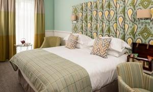 Bedroom, West Park Hotel, Harrogate