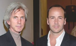 Ford with husband, fashion writer Richard Buckley.