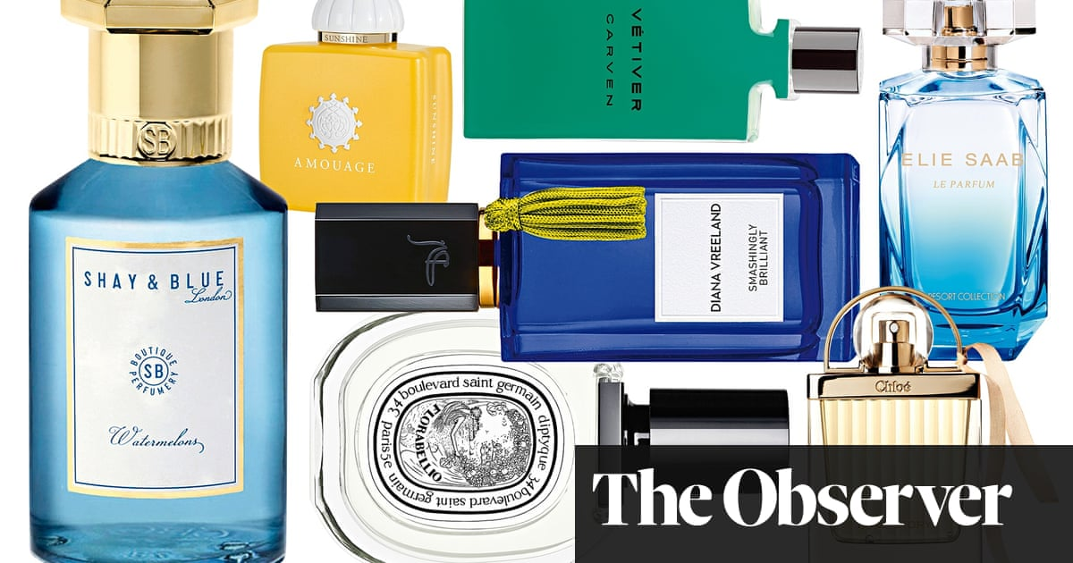 The Best New Fragrances Life And Style The Guardian