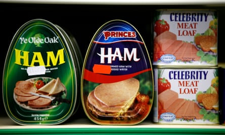Tinned meat