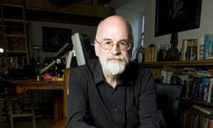 Terry Pratchett in 2008