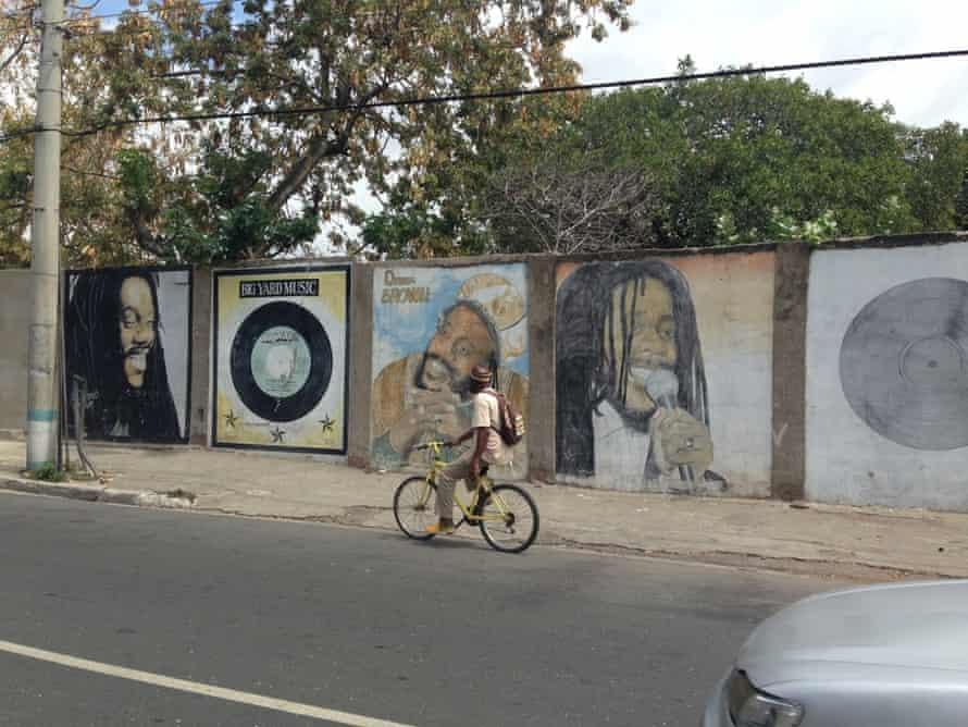 Dennis Brown mural, Kingston, Jamaica