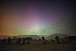 'Taken at the Castlerigg stone circle above Keswick in the Lake District.'
