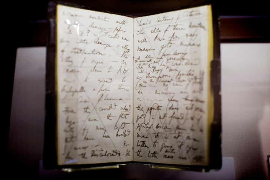 Notebook from Darwin's voyage on the Beagle