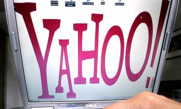 Yahoo's logo in July 2006.