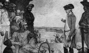 Land grab: the East India Company, 1781.