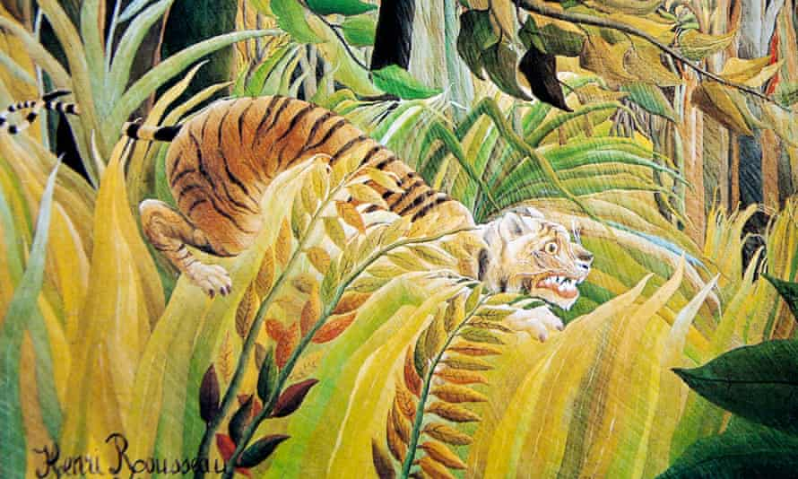Henri Rousseau - Tiger in a Tropical Storm