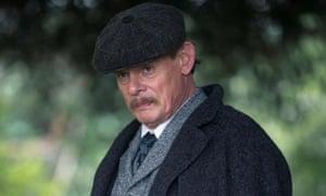 Martin Clunes as Arthur Conan Doyle in ITV's Arthur and George.