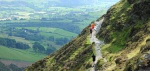 Helvellyn trail race