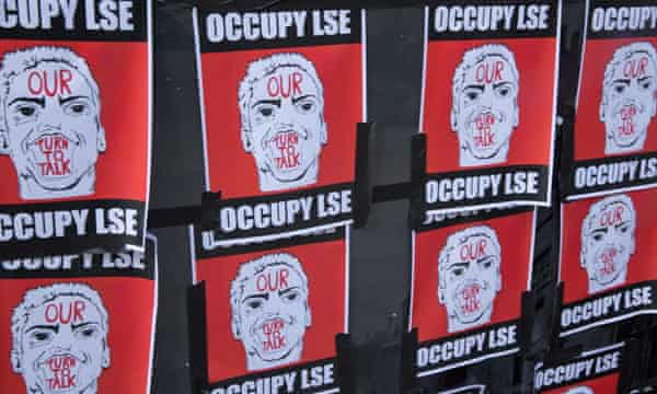 LSE students in occupy protest