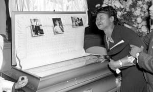 mamie till mobley emmett till funeral