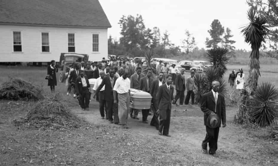 lynching funeral georgia
