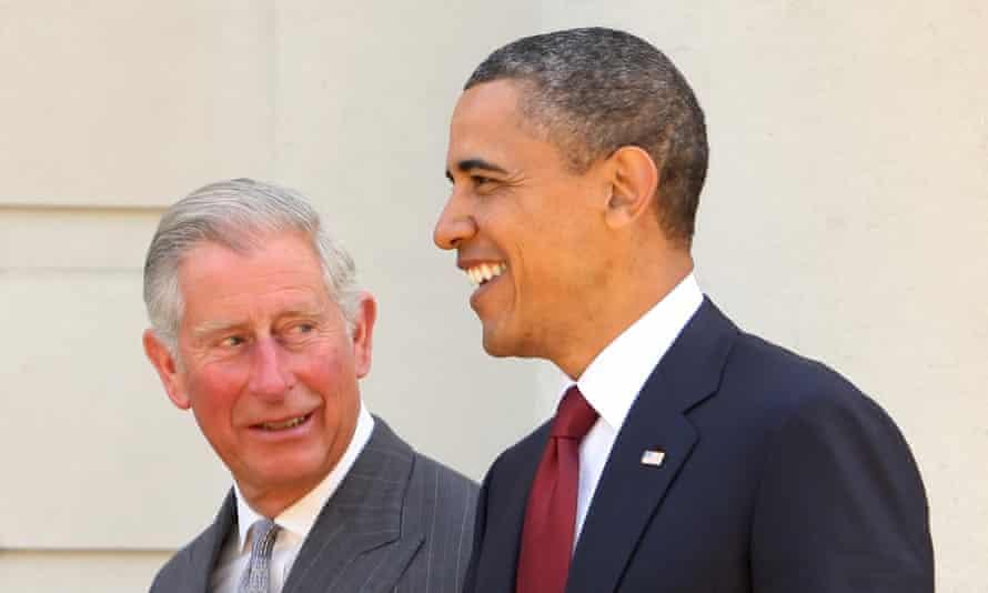 Prince Charles & Obama