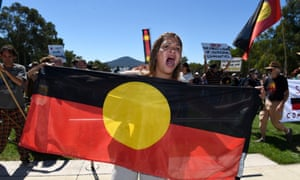 Closing the Gap Day protest about closure of Indigenous communities