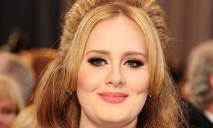 Record breaker ... Adele