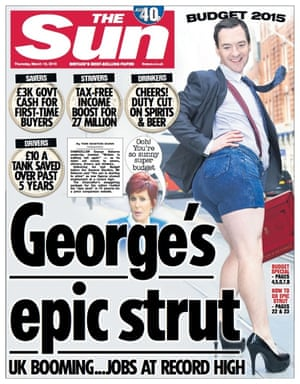 The Sun's full George Osborne front page